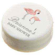 Flamingo Baby Shower Chocolate Covered Oreo