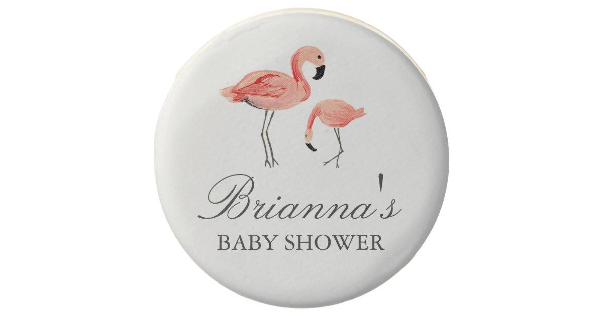 flamingo baby shower chocolate covered oreo zazzle