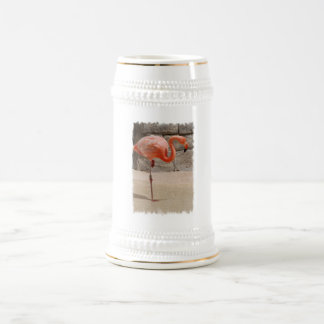 Flamingo Beer Stein