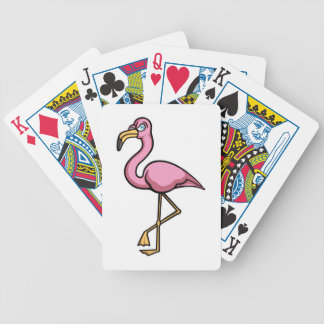 Flamingo Bicycle Playing Cards