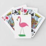 Flamingo Bird Bicycle Playing Cards