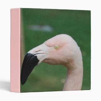 Flamingo Bird Binder