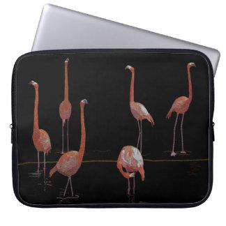 Flamingo Bird Laptop Sleeves
