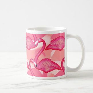 flamingo bird mug