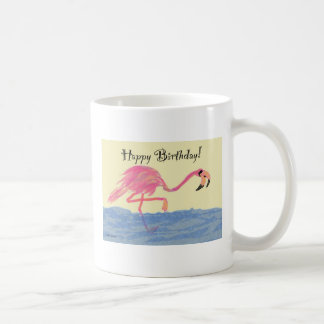 Flamingo Birthday Coffee Mug