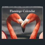 """Flamingo Calendar 2018<br><div class=""""desc"""">This is a beautiful collection of Flamingo Bird Photography for your 2018 calendar. This calendar make a great gift for your loving one.</div>"""