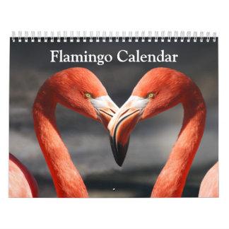 Flamingo Calendar 2018