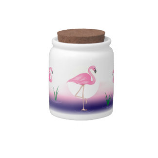 Flamingo Candy Dishes