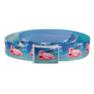 Flamingo Canvas Belt
