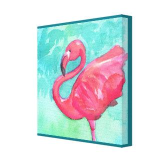 Flamingo Canvas wall art