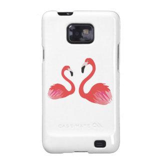 Flamingo Galaxy SII Cover
