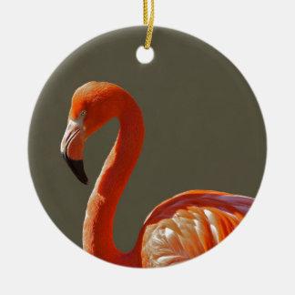 Flamingo Ceramic Ornament