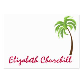 Flamingo Christmas Enclosure Card / Tag Business Card Templates
