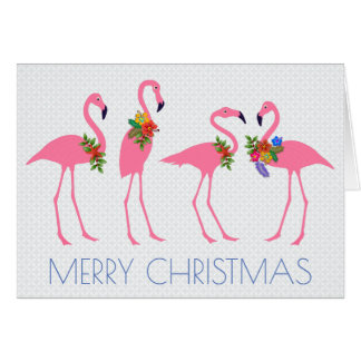 Flamingo Christmas Cards - Invitations, Greeting & Photo Cards ...