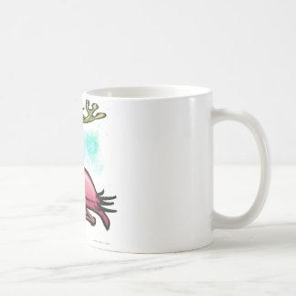 Flamingo Christmas Reindeer Coffee Mug