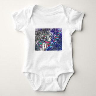 Flamingo Chrome Collection Baby Bodysuit