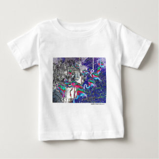 Flamingo Chrome Collection Baby T-Shirt