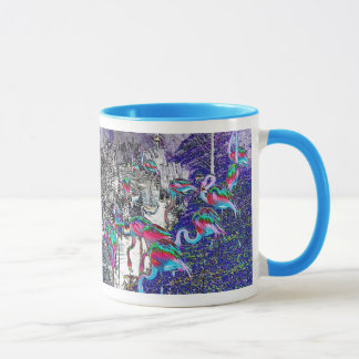 Flamingo Chrome Collection Mug