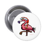 Flamingo Chrsitmas Pin