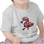 Flamingo Chrsitmas T-shirts