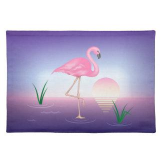 Flamingo Cloth Place Mat