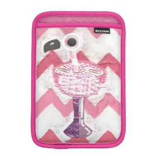 Flamingo Cocktail I-Pad Mini Sleeve