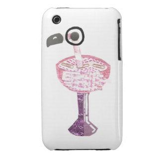 Flamingo Cocktail I-Phone 3G/3Gs Case