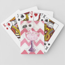 Flamingo Cocktail Playing Cards