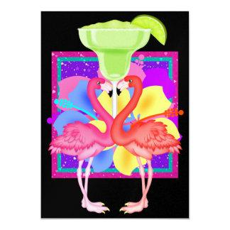 Flamingo Cocktail - SRF Card