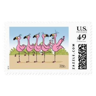 Flamingo Coffee Postage