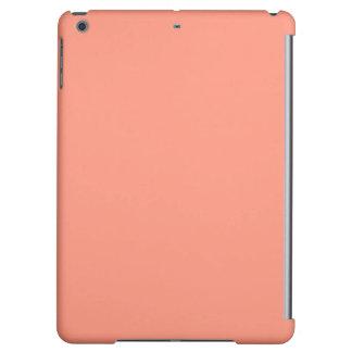 Flamingo Coral Peach Melon-Uptown Girl-Designer iPad Air Cover