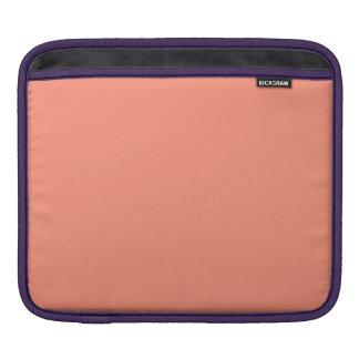 Flamingo Coral Peach Melon-Uptown Girl-Designer iPad Sleeve