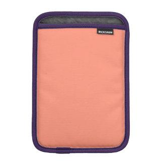 Flamingo Coral Peach Melon-Uptown Girl-Designer Sleeve For iPad Mini