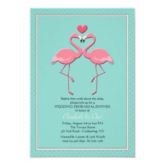Flamingo Couple Invitation