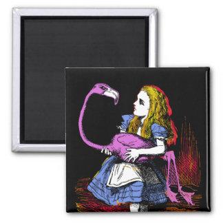 Flamingo Croquet Magnet Refrigerator Magnet