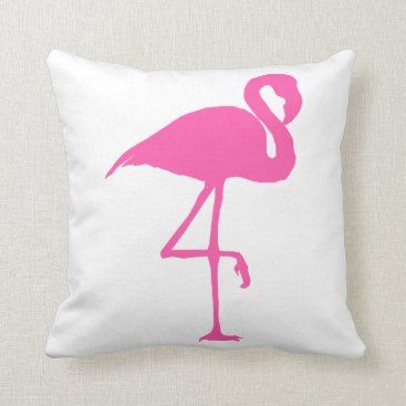 Beach Themed Flamingo Cushion Drawing