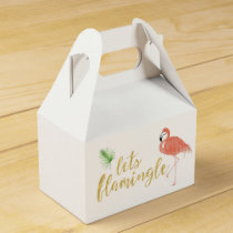 Flamingo Custom Gift Box - Gable