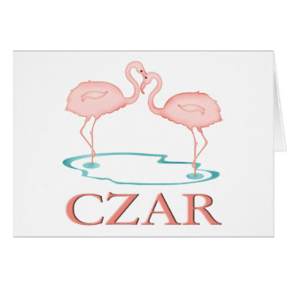 Flamingo Czar Card