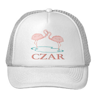 Flamingo Czar Mesh Hat