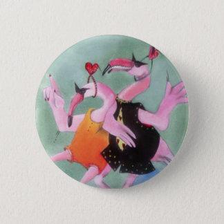 Flamingo Dance Button