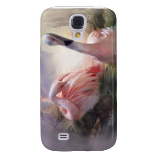Flamingo Dawn Art Case for iPhone 3 Galaxy S4 Cover