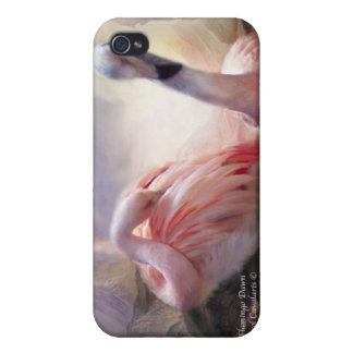 Flamingo Dawn Art Case for iPhone 4