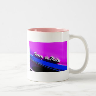 Flamingo De Ville Two-Tone Coffee Mug