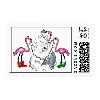 Flamingo Decorators Postage