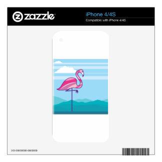 Flamingo Design iPhone 4S Skin