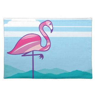 Flamingo Design Placemat