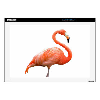 """""""Flamingo"""" design products Skin For 17"""" Laptop"""