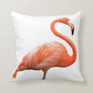 """Flamingo"" design throw pillows"