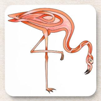 Flamingo Drink Coaster
