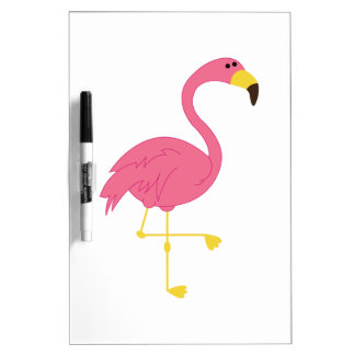 Flamingo Dry-Erase Board